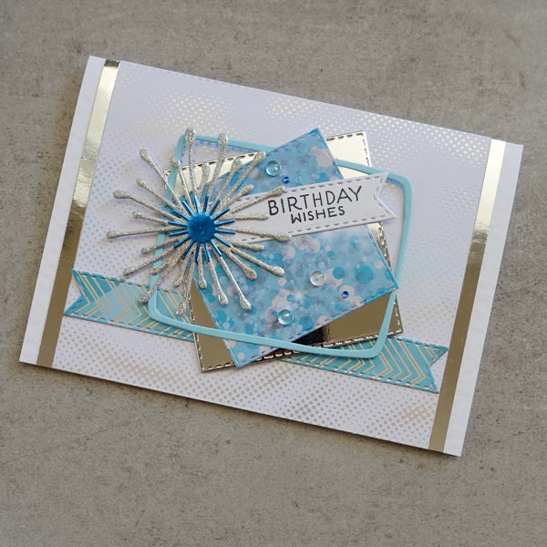 shopaperartz FLOWER BURST EUCALYPTUS GUM BLOSSOM LAYER PETALS CUTTING DIE CARDMAKING