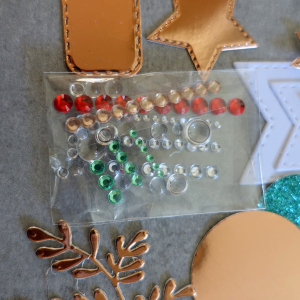 STAMPIN' UP! JOYOUS NOEL ROSE GOLD CHRISTMAS FESTIVE CARDMAKING PACK 80+ PIECES