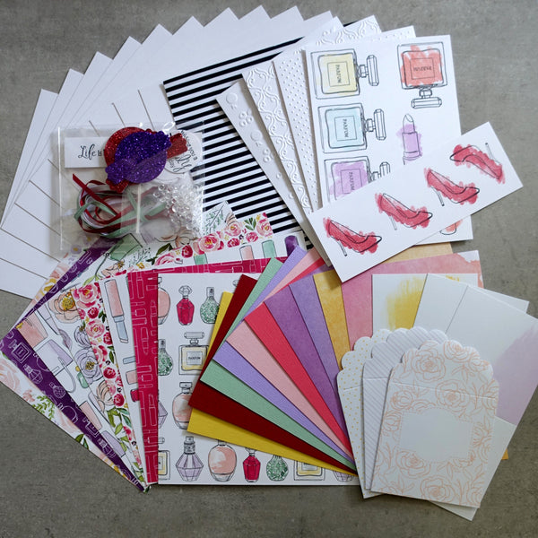 STAMPIN' UP! DRESSED TO IMPRESS BEST DRESSED CARDMAKING PACK 60+ PIECES