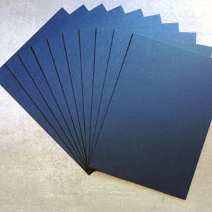 CARD A5 COBALT NAVY BLUE 216 GSM 20 SHEETS MALE CARDMAKING