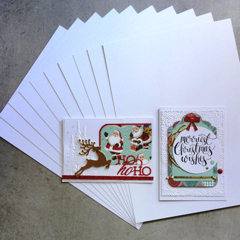 CARD A5 SMOOTH BRIGHT COOL WHITE 280 GSM 30 SHEETS CARDMAKING