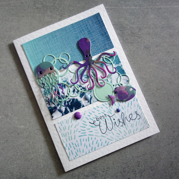 CARD A5 MIXED METALLIC PASTELS PRETTIES BABY MALE SHIMMER CARD 5 COLOURS 250 GSM 20 SHEETS CARDMAKING