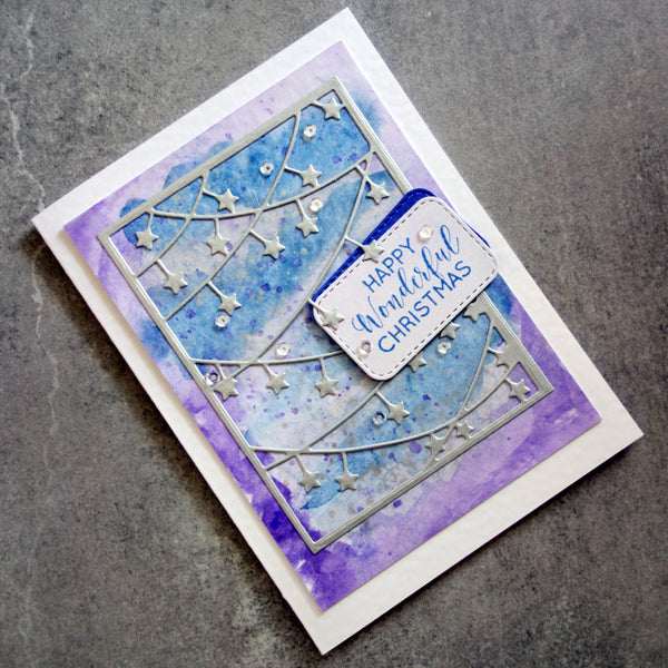 shopaperartz STITCHED ROUNDED RECTANGLES #1 6 PCE CUTTING DIES BIRTHDAY CHRISTMAS CARDMAKING