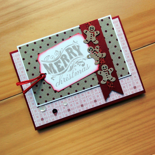 "CARD A5 BOTANY RECYCLED KRAFT ""INDUSTRIAL"" LOOK 230 GSM 10 SHEETS CARDMAKING"