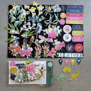 KAISERCRAFT NATIVE BREEZE AUSTRALIANA COLLECTABLES DIE-CUTS CT978 CARDMAKING