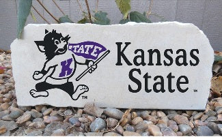 Limestone yard art is now available to order by emailing kstate.gear@hanes.com!
