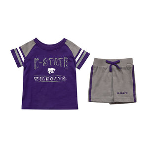 Kansas State Wildcats Infant Grand Poobah T-Shirt & Shorts Set - 2008391
