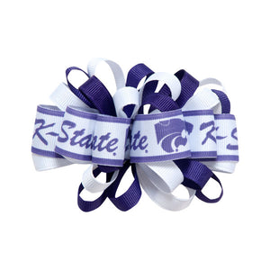 Kansas State Wildcats Small Logo Loop Hair Bow - 2001812