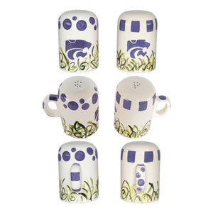 Kansas State Wildcats Magnolia Lane Ceramic Salt & Pepper Shaker Set - 2001863