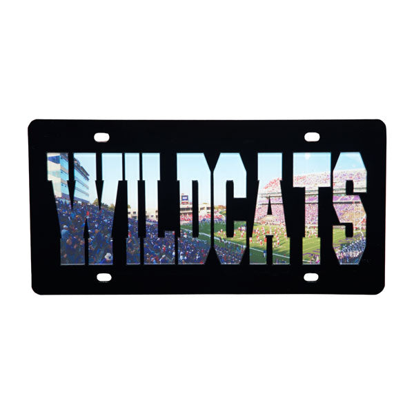 Kansas State Wildcats Football Stadium License Plate - 2002108