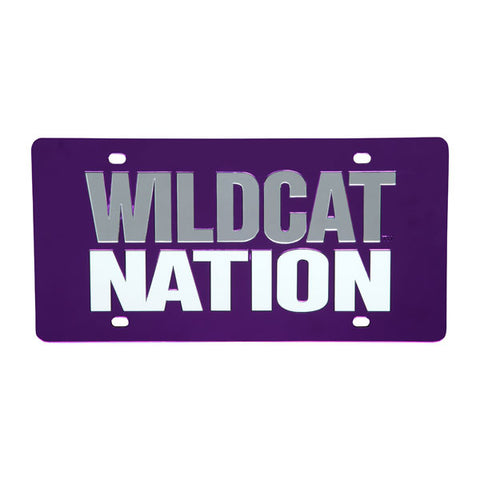Kansas State Wildcats License Plate Wildcat Nation - 2002136