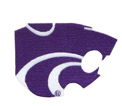 Kansas State Wildcats 4 Inch Powercat Patch - 2002725