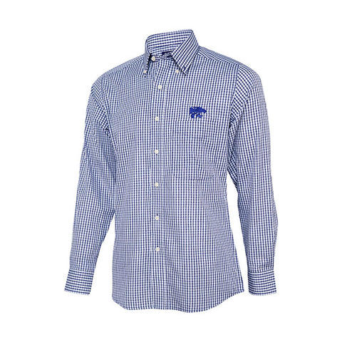 Kansas State Wildcats Antigua Men's Associate Woven Dress Shirt - 2003558