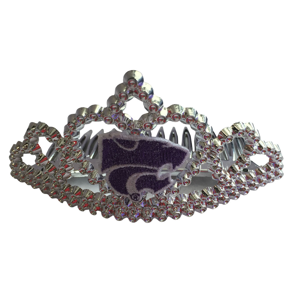 Kansas State Wildcats Girls Tiara Hair Comb - 2003650