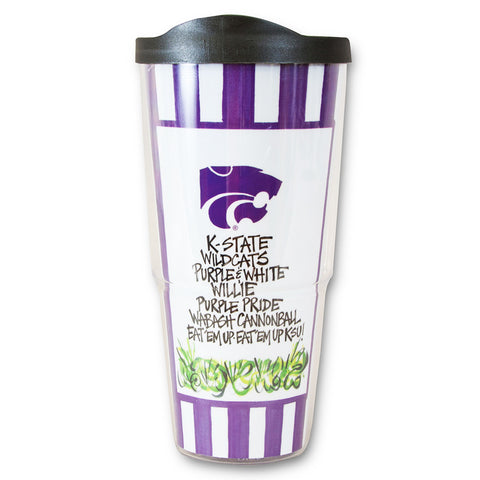 Kansas State Wildcats Tumbler with Lid - 2004838