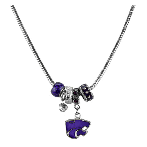 Kansas State Wildcats Bethel MVP Charm Necklace - 2005281