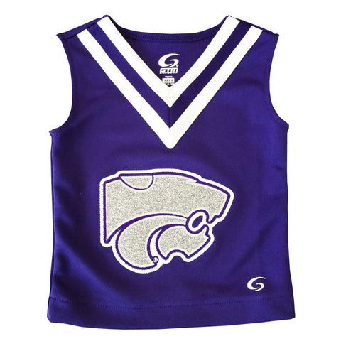 Kansas State Wildcats Youth Girls Excite Cheer Shell - 2005299