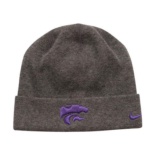 Kansas State Wildcats Nike Youth Boys Sideline Training Beanie - 2005448