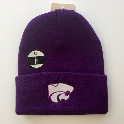 Kansas State Wildcats North Pole Youth Beanie - 2005450