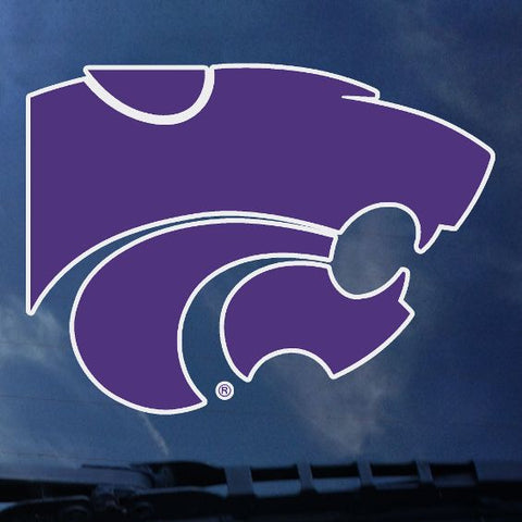 "Kansas State Wildcats 6"" Standard Purple Powercat Decal - 2005491"