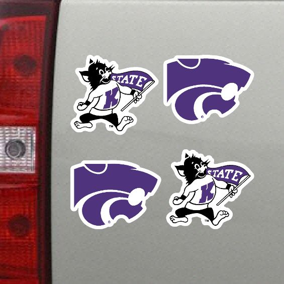 Kansas State Wildcats 4 Pack Mini Magnet Set - 2005499