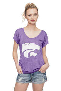 Kansas State Wildcats Chicka-D Scoop Neck Tee - 2005669