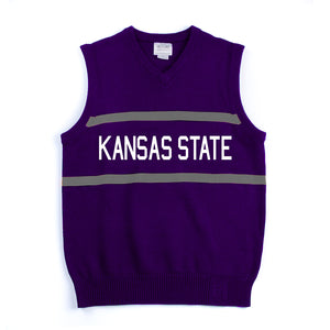 Kansas State Wildcats Stadium Knit Vest - 2005842