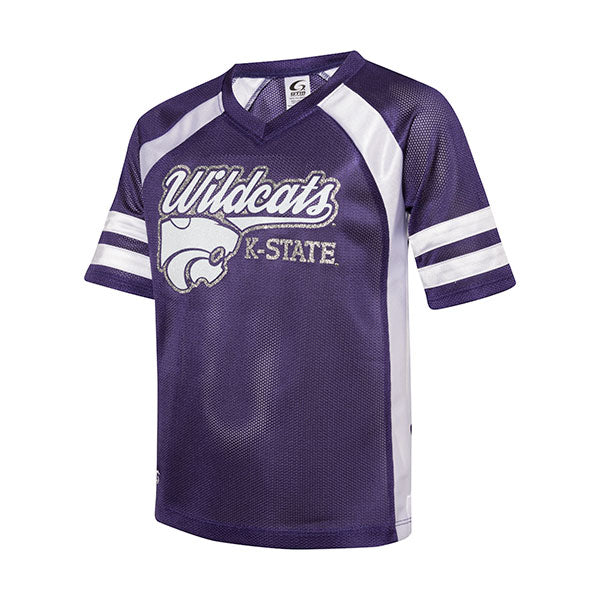 Kansas State Wildcats Girls Powerhouse Fan Jersey - 2006019