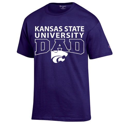Kansas State Wildcats Champion Dad T-Shirt - 2006022
