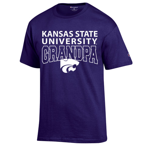 Kansas State Wildcats Champion  Grandpa T-Shirt - 2006024