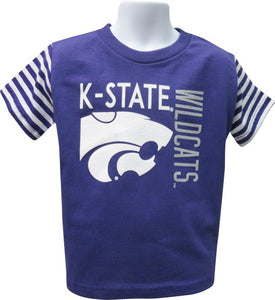 Kansas State Wildcats Toddler Stripe Sleeve T-Shirt - 2006067
