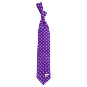 Kansas State Wildcats Men's Damante Silk Tie - 2006304