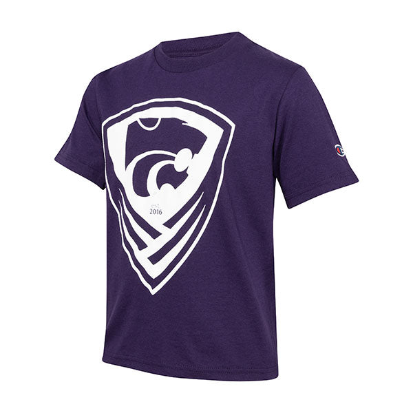 Kansas State Wildcats Youth Soccer Crest Tee - 2006328