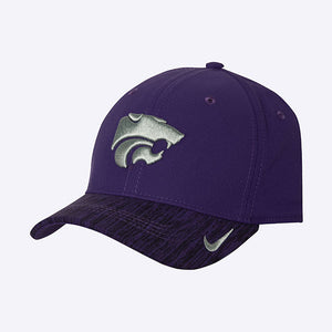Kansas State Wildcats Nike Youth Aero Swoosh Flex Hat - 2006448