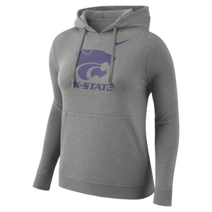 Kansas State Wildcats Nike Women's Pull Over Club Sweatshirt - 2006511