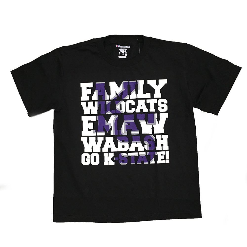 Kansas State Wildcats Youth KS Family Tee - 2006548