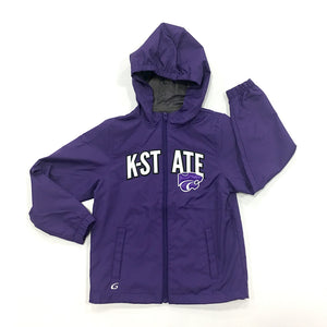 Kansas State Wildcats Youth Lightweight Pursuit Jacket - 2006565