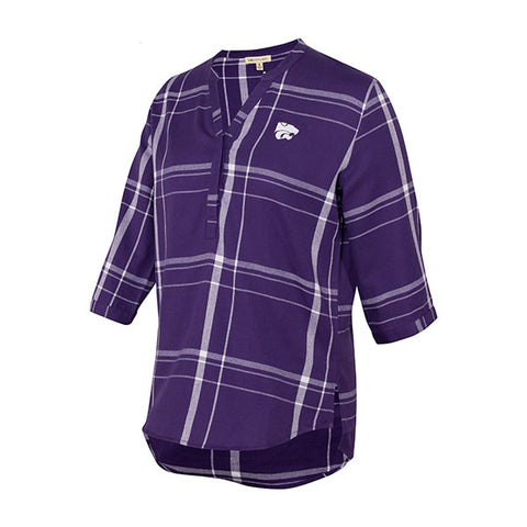 Kansas State Wildcats UG Plaid Tunic - 2006568