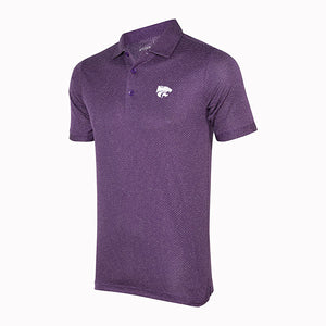 Kansas State Wildcats Antigua Men's Clutch Polo - 2006585