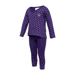 Kansas State Wildcats Toddler Heart Shirt and Pant Set - 2006664