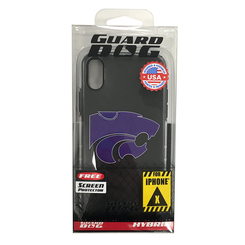 Kansas State Wildcats DP1 Hybrid Case for iPhone X - 2006709