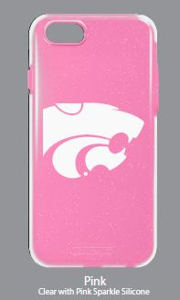 Kansas State Wildcats Pink Hybrid Case for iPhone X - 2006713