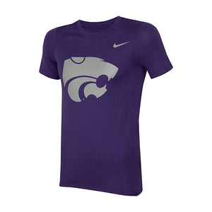Kansas State Wildcats Nike Youth Short Sleeve Powercat Logo T-Shirt - 2006743