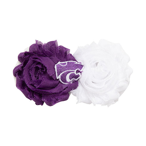 Kansas State Wildcats UnFRAYgettable Flower Clip - 2006746