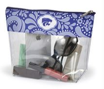 Kansas State Wildcats Clear Travel Pouch - 2006762