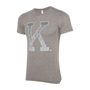 Kansas State Wildcats Wabash Collection Cool Grey Retro K T-Shirt - 2006831