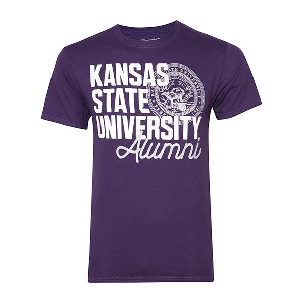 Kansas State Wildcats Champion University Seal Alumni T-Shirt - 2006851