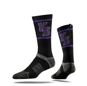 Kansas State Wildcats KS Logo Crew Socks - 2006935