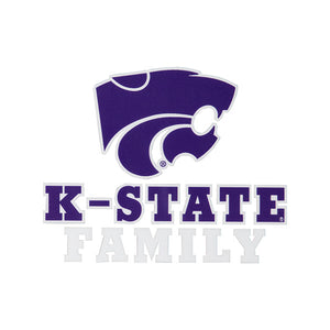 Kansas State Wildcats K-State Family Car Decal - 2007008