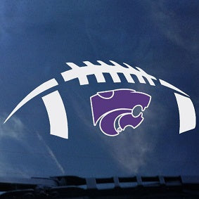 Kansas State Wildcats Football Car Decal - 2007011